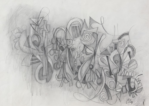 drawing-for-ribbon-by-cedric-cox-16-x-22-inches-graphite-on-paper-2012.jpg