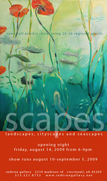 Scapes: By Land or Sea at Red Tree Gallery
