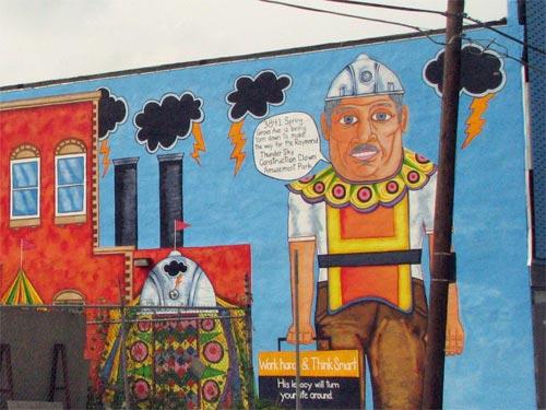 Raymond Thunder-Sky Legacy Mural