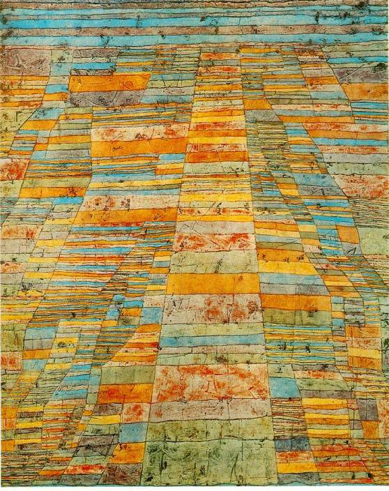 Highways and Byways by Paul Klee