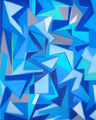 Marcus Fletcher, acrylic on canvas 2012