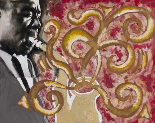 Rita Beckman age 16 acrylic on canvas