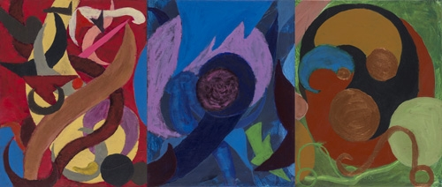 Rosie Bryant age 14 acrylic on canvas