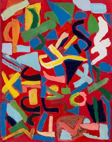 Shianna Brown age 10 acrylic on canvas