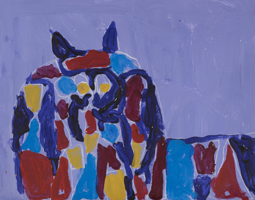 Item-1-the-wolf-acrylic-on-paper-12-x-14-inches